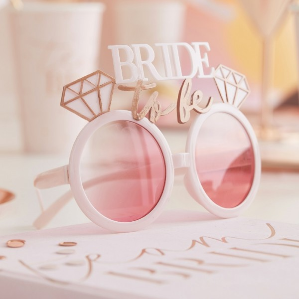 JGA Partybrille Bride to be