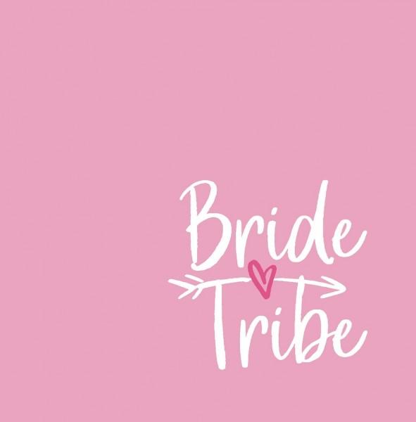 JGA Gästebuch BRIDE TRIBE