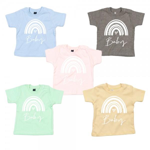 Baby T-Shirt Regenbogen