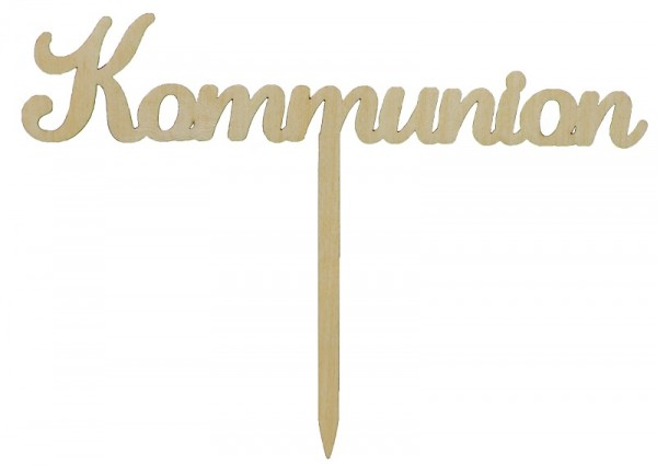 Kuchenstecker Kommunion