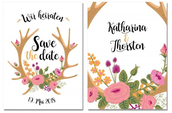 Save the Date DEER SPRING