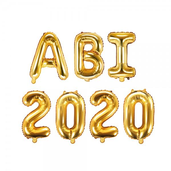 Folienballon ABI 2020 gold