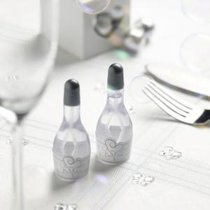 Seifenblasen Champagnerflaschen, 24 Stück