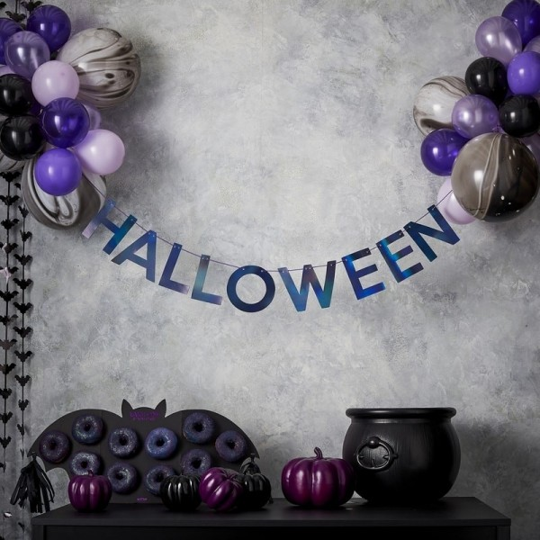 Halloween Luftballon Partydeko Set Let's get batty