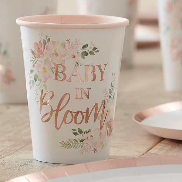 Partybecher Baby in Bloom Ditsy Flower