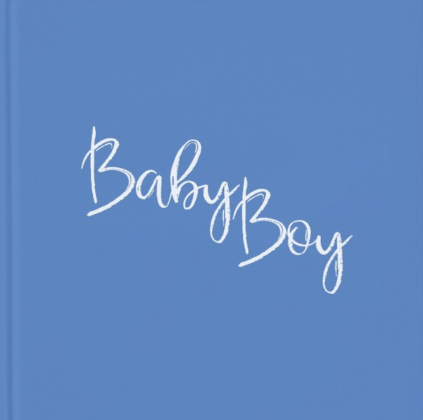Babyparty Gästebuch BABY BOY