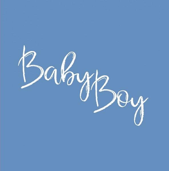 Babyparty Gästebuch BABY BOY