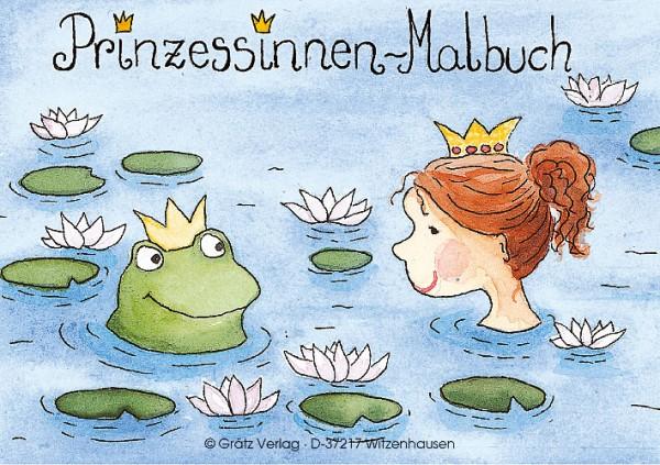 Mini-Malbuch Prinzessin