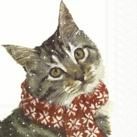 Servietten Kitty für Katzenliebhaber