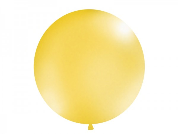 Riesenluftballon Metallic Gold 100cm