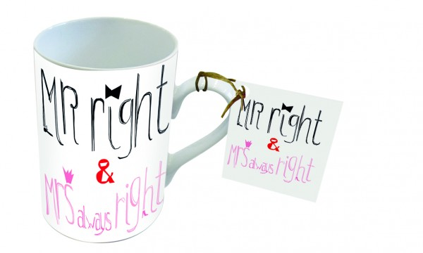 Tasse MR Right & MRS always Right