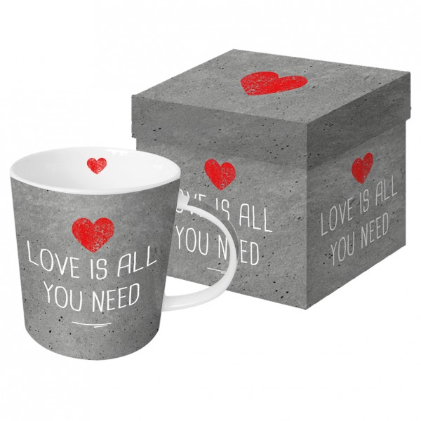 Tasse Love is all you need
