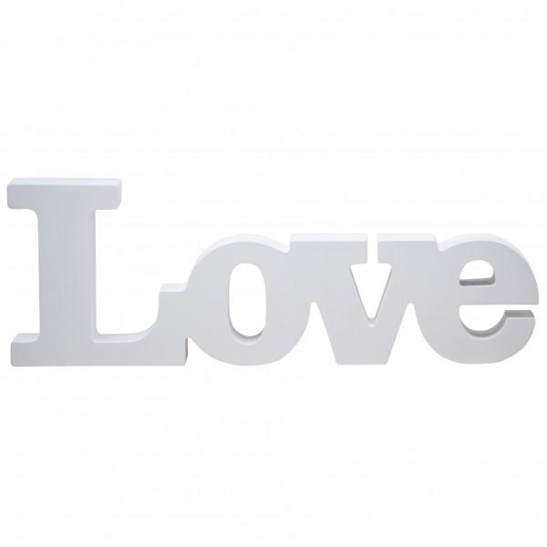 Holzschild LOVE