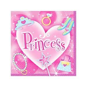 Servietten Princess Party