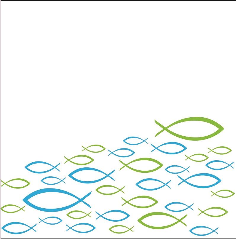 Gästebuch Fische Für Kommunion Konfirmation