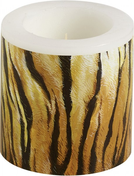 Kerze Windlicht The 90th Birthday Tiger 75 mm
