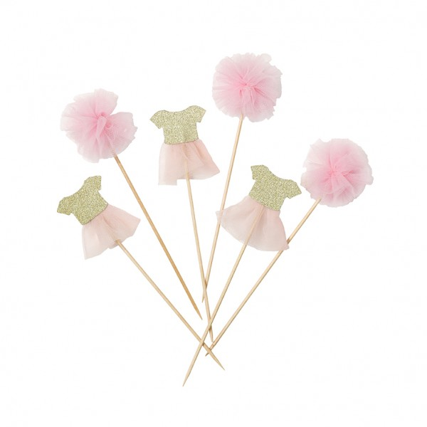 Cake Topper TUTU - WE LOVE PINK