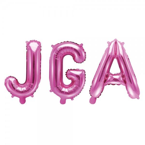 Junggesellinnenabschied Folienballon JGA pink