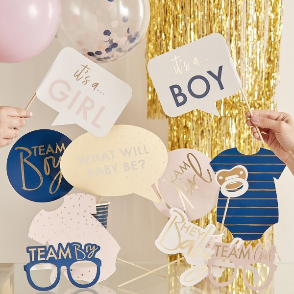 Babyparty Photobooth Gender Reveal